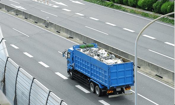 産業廃棄物運搬事業